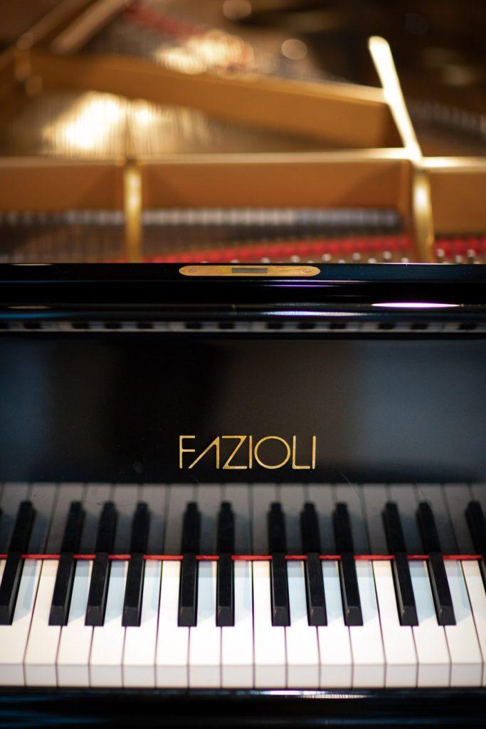 Na zdjęciu klawiatura pianina.